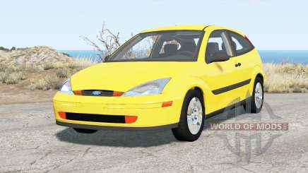 Ford Focus ZX3 (DBW) 2000 para BeamNG Drive