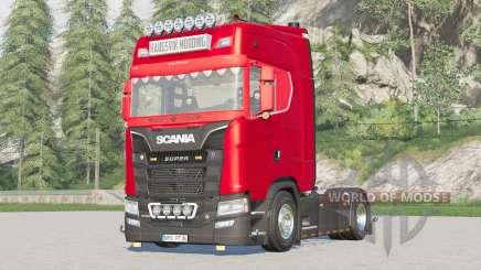 Scania S-series Highline 2017〡extra Luzes Hella para Farming Simulator 2017