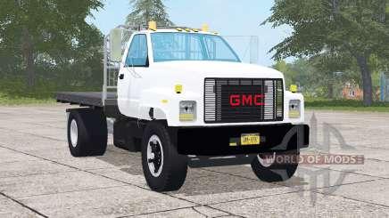 GMC TopKick C7500 Regular Cab Flatbed para Farming Simulator 2017