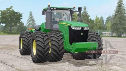 John Deere 9R série〡não poly modelo para Farming Simulator 2017
