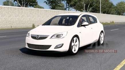 Opel Astra (J) 2010 v1.5 para American Truck Simulator