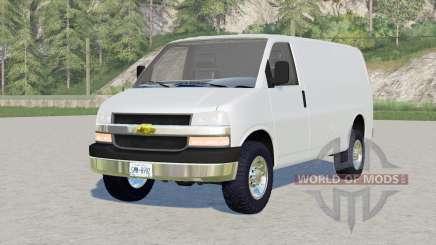 Chevrolet Express Cargo Van para Farming Simulator 2017
