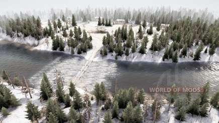 Distrito Florestal 5 v3.5 para MudRunner