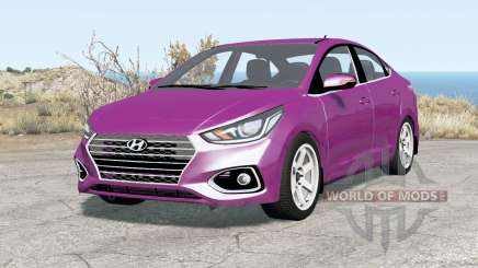 Hyundai Solaris (HCR) 2018 para BeamNG Drive
