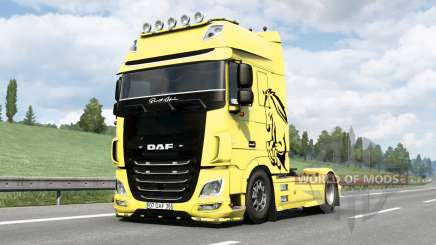 DaF XF Super Cabine Espacial〡Berat Afsin v1.1 para Euro Truck Simulator 2