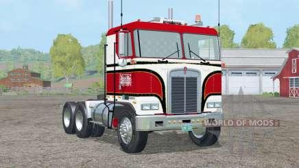 Kenworth K100〡Billie Joe McKay para Farming Simulator 2015