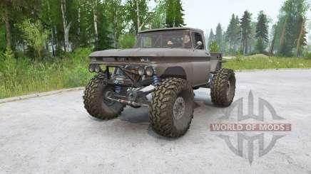 Chevrolet K10 Rockwell para MudRunner