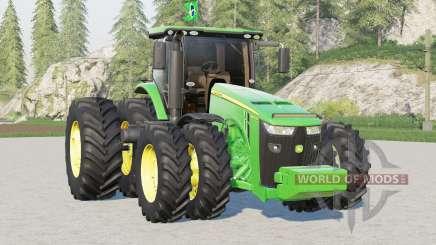 John Deere 8R série〡BR versão para Farming Simulator 2017