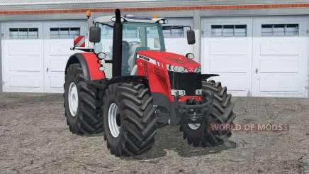 Massey Ferguson 8737〡se relógio para Farming Simulator 2015
