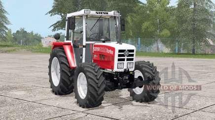 Steyr 8090A Turbo〡dímica de escape para Farming Simulator 2017