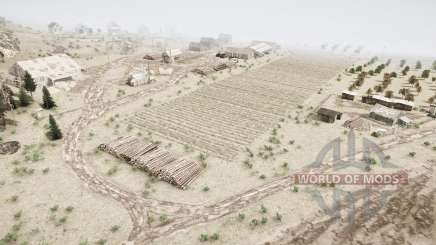 Terras agrícolas na taiga para MudRunner