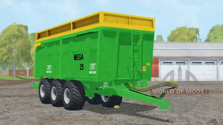 ZDT Mega 25〡capacidade 38000 litros para Farming Simulator 2015