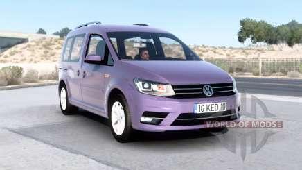 Volkswagen Caddy (Type 2K) 2016 v1.6 para American Truck Simulator