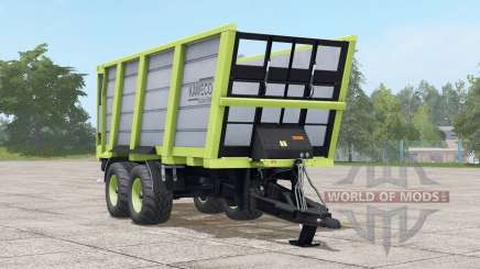 Kaweco Pullbox 8000H〡3 diferentes config de pneus para Farming Simulator 2017