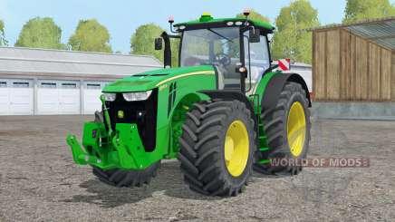 John Deere 8370R〡realista câmera interior para Farming Simulator 2015