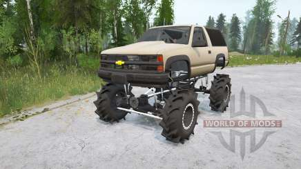 Chevrolet Tahoe Sport 3 portas (GMT410) 1995〡off-road para MudRunner
