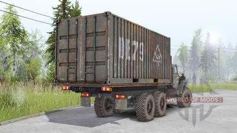 Ural-4320-1951-60 para Spin Tires