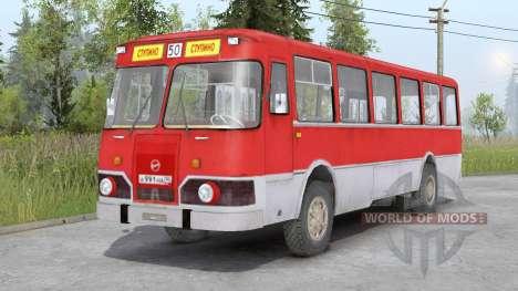 LiAZ-677 para Spin Tires