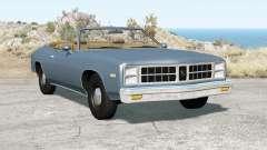 Bruckell Moonhawk Convertible para BeamNG Drive