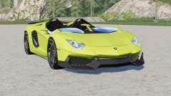 Lamborghini Aventador J 2012 para Farming Simulator 2017