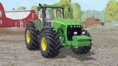 John Deere 8520〡nova textura de churrasqueira para Farming Simulator 2015