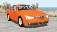Ford Focus sedan (NA2) 2008 v2.15 para BeamNG Drive