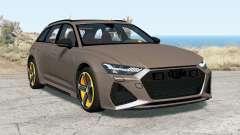 Audi RS 6 Avant (C8) 2019 para BeamNG Drive