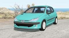Peugeot 206 2003 para BeamNG Drive