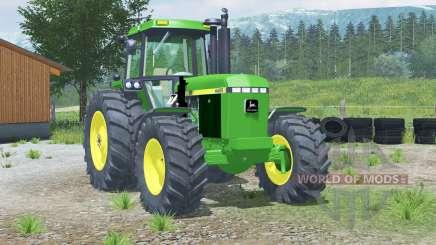 John Deere 4455〡com carregador frontal para Farming Simulator 2013