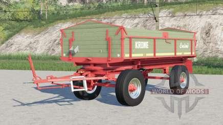 Krone DK 220-8〡para transportar granéis e fardos para Farming Simulator 2017