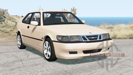 Saab 9-3 Aero coupe 1999 para BeamNG Drive