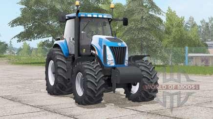 Nova Holland TG série〡provação de motores para Farming Simulator 2017