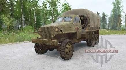 Studebaker US6 1943 para MudRunner