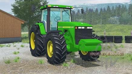 John Deere 8400〡rear câmera de visão para Farming Simulator 2013