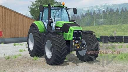 Deutz-Fahr 7250 TTV Agrotroɲ para Farming Simulator 2013