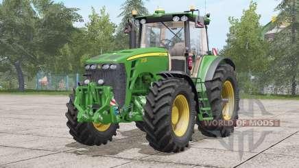 John Deere 8030 série〡re atualização para Farming Simulator 2017