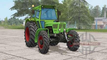 Deutz D 13006 A〡trabalhar frente leve e traseira para Farming Simulator 2017