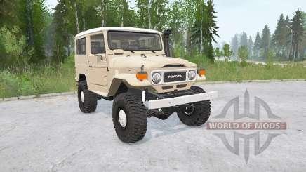 Toyota Land Cruiser Hard Top (FJ40) para MudRunner