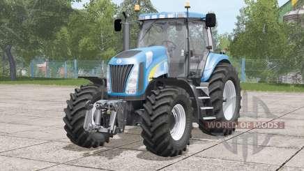 Nova Seleção 〡 força 〡 série New Holland TG200 para Farming Simulator 2017
