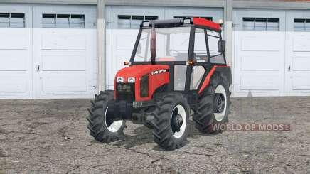 Sistema de exaustão zetor 5340〡dinâmico para Farming Simulator 2015