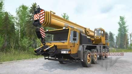 Guindaste Liebherr LTM 1060-2〡xe para MudRunner