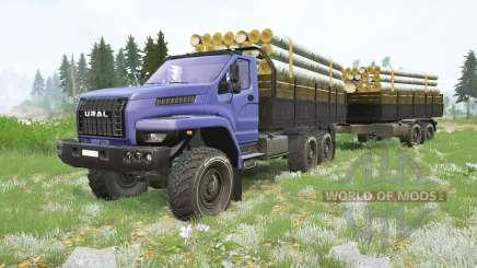 Cargas 〡 Ural Next para MudRunner