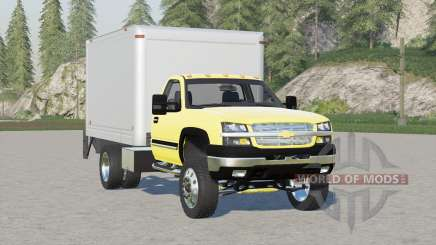 Chevrolet Silverado 3500 Box Truck para Farming Simulator 2017