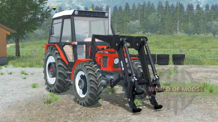 Carregador 〡 frente Zetor 7745 para Farming Simulator 2013