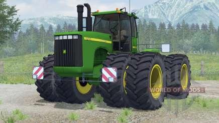 John Deere 9400〡 rodas adicionadas para Farming Simulator 2013