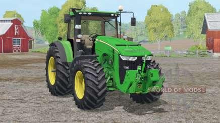 John Deere 8370R〡usulicação dianteira para Farming Simulator 2015