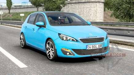 Peugeot 308 (T9) 2014 v1.7 para Euro Truck Simulator 2