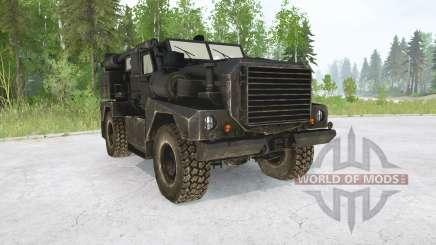 Cougar 4x4 MRAP 2003 para MudRunner