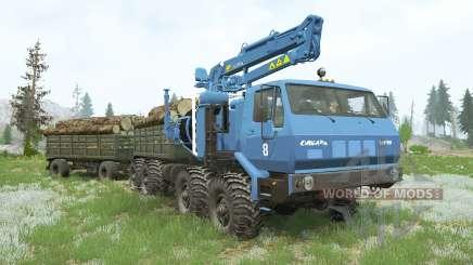 CARGA KRAz-7E-6316 Siberia〡s para MudRunner