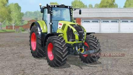 Eixo dianteiro claas Axion 870〡animado para Farming Simulator 2015